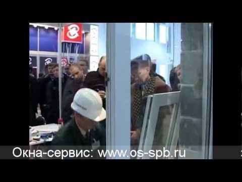 Видео Монтаж металлопластиковых окон. Часть 6