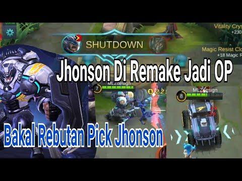 Jhonson Remake Pengganti Tank Lainnya Bonus Tips + Build