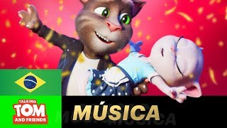 Tom e Angela - Stand by me (NOVO Clipe Musical de TALKING TOM AND FRIENDS)