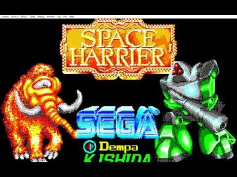 Quick Stoveplay: Space Harrier (PC-88)