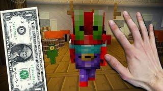Realistic Minecraft - Buying a Krabby Patty! (Spongebob Roleplay)