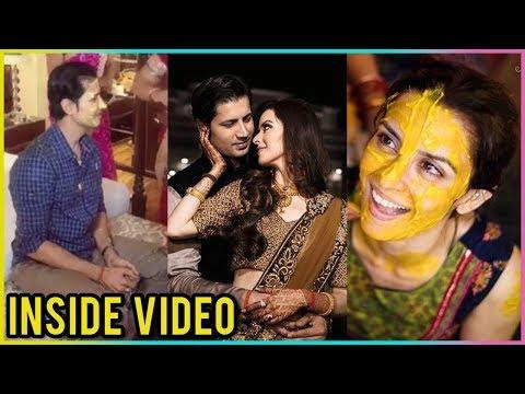 Sumeet Vyas And Ekta Kaul Haldi, Mehendi & Sangeet