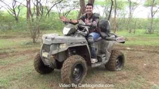 5. Polaris Sportsman 500 H.O. ATV Test Ride Review And Off-Roading Experience