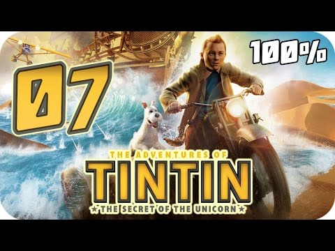 The Adventures of Tintin: The Game Walkthrough Part 7 (PS3, X360, Wii) 100% Movie Chapter 20
