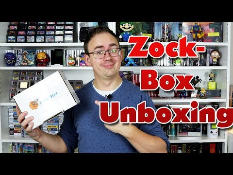 Retro Gaming Panda Video zu Zockbox