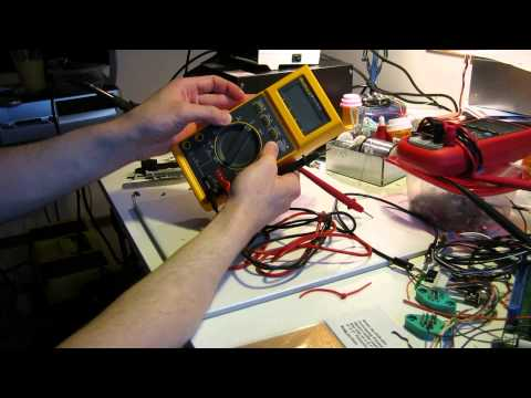 Broken Fluke 27 multimeter