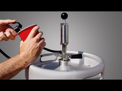 STOP Wasting Beer! How to Tap a Keg with a Keg Pump the Right Way