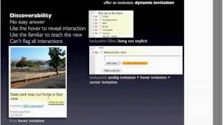 O'Reilly Webcast: Designing Web Interfaces