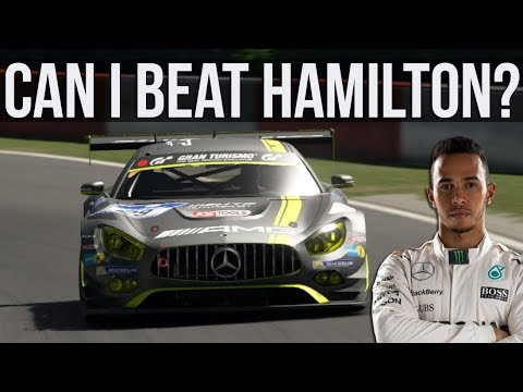 Can I Beat Lewis Hamilton's Laptime At The Nurburgring GP Circuit?