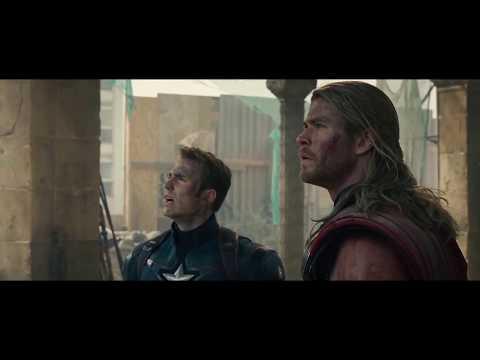 Avengers vs Ultron   Battle of Sokovia   Avengers  Age of Ultron 2015 Movie CLIP HD