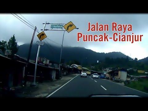 Jalan Raya Puncak - Cianjur 2019   Perjalanan Jakarta-Bandung via Puncak (Part 1)