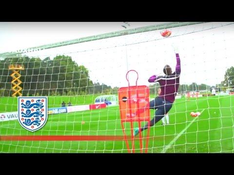 イングランド代表GK練習
