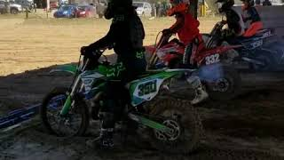 10. Kx 100 at Valley MX 2019!!!