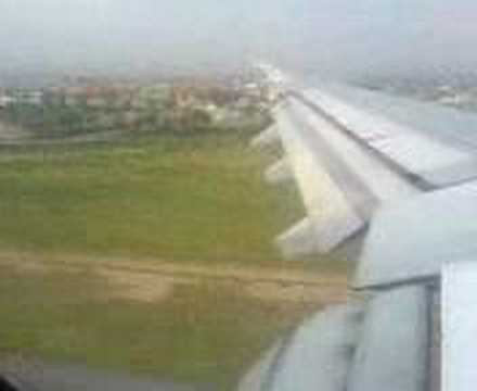 Landing at Islamabad Airport