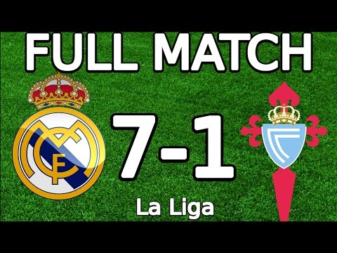 Real Madrid VS Celta Vigo 7-1 FULL MATCH 720p 05.03.2016 (La Liga) (ENGLISH COMMENTARY)