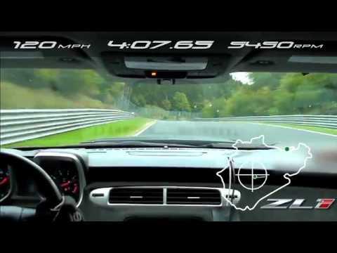 2012 Camaro ZL1 laps Nürburgring in 7:41:27