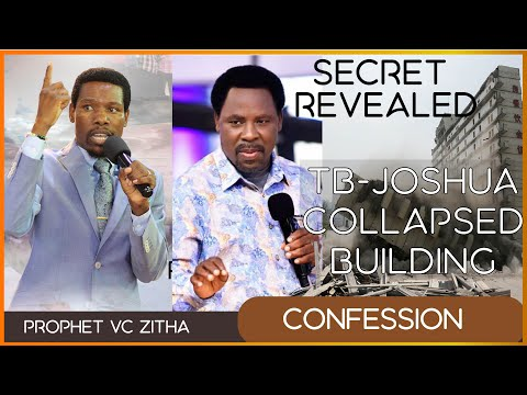 The secret revealed about the collapsing of TB Joshua's building #TBJOSHUA #PROPHETVCZITHA #SCOAN