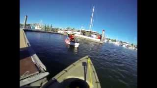 Tin Can Bay Australia  City pictures : Kayak Fishing for Trevally in Tincan Bay