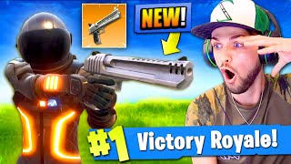 *NEW* HAND CANNON GAMEPLAY in Fortnite: Battle Royale! (SEASON 3)