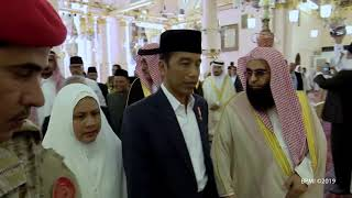 Video Presiden Jokowi Ziarah Makam Rasulullah SAW, Madinah, 15 April 2019 MP3, 3GP, MP4, WEBM, AVI, FLV Mei 2019