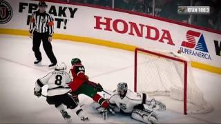 Granlund splits the Kings' defense for OT winner by NHL
