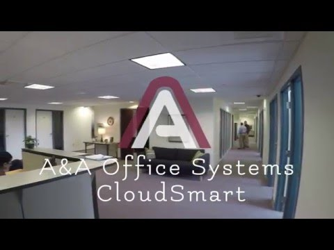 Cloudsmart Data Center Visual Tour - A&A Office Systems