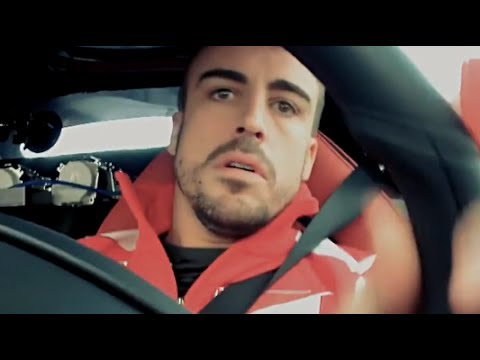 Fernando Alonso Tests Ferrari LaFerrari Fiorano Circuit F1 Commercial 2014 Carjam TV