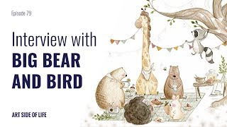 THE VISION BEHIND YOUR BRAND -WITH SARAH AMIJO (BIG BEAR AND BIRD) (EP.79)
