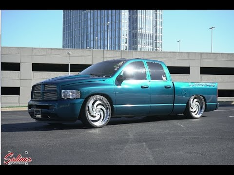 2003 DODGE RAM with a HEMI Swap 3 Piece Armani wheels halo lights and much more!