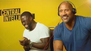 WHISPER CHALLENGE WITH KEVIN HART & THE ROCK!!!