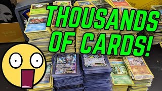 SOMEONE SENT US THOUSANDS OF POKEMON CARDS!!! by The Pokémon Evolutionaries