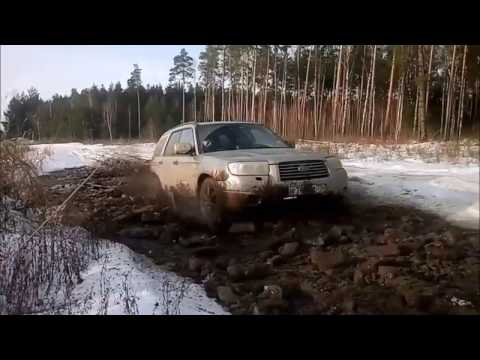 Subaru Forester  Hardcore Off-Road (видео)
