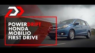 First Drive: Honda Mobilio