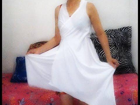 Vestido em 2 min s/costura