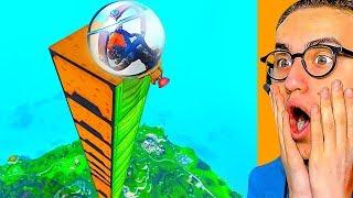 How Far Can THE BALLER FLY in Fortnite Battle Royale