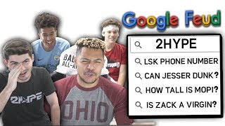 2Hype Google Feud Challenge! DOUBLE OR NOTHING?!