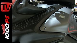 5. Suzuki V-Strom 650 XT 2015 | Specs, info, details and close-ups