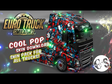 Cool Pop Skin Pack for All Trucks + Volvo Ohaha