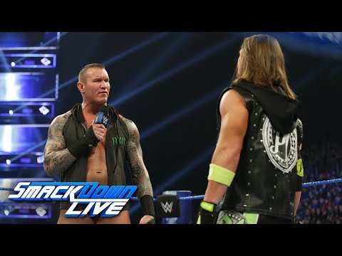 Randy Orton promises to destroy The House that AJ Styles Built: SmackDown LIVE, March 12, 2019