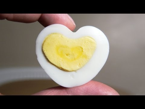How to Make a Heart Shaped Egg