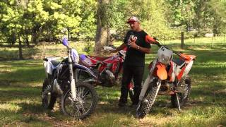 7. Bike Test: 2015 KTM 300EXC vs 2015 Sherco 300SE-R vs 2015 Beta RR300