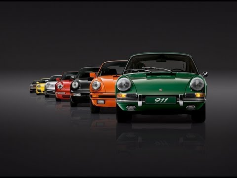 Celebrating Fifty Years Of The Porsche 911