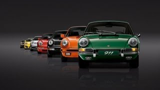 Celebrating 50 years of Porsche 911