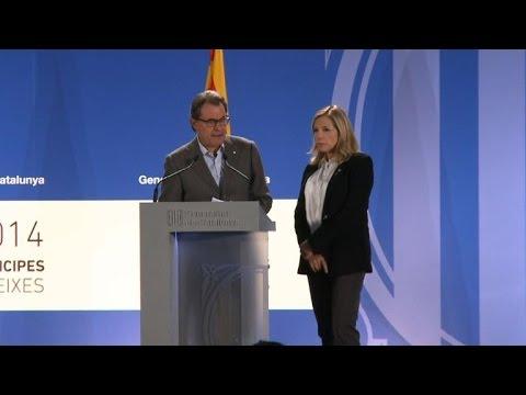 """Vote en Catalogne: """"un succès total"""", selon le président catalan"""