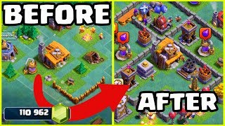 Video 170,000 GEMS to MAX! Clash of Clans Builder Hall 1 - 5 in Minutes! MP3, 3GP, MP4, WEBM, AVI, FLV Agustus 2017