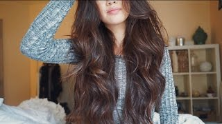 Easy Loose Curls in under 10 mins | viviannnv