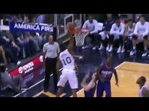 The NBA is BACK! Top Ten Dunks of 2015-16