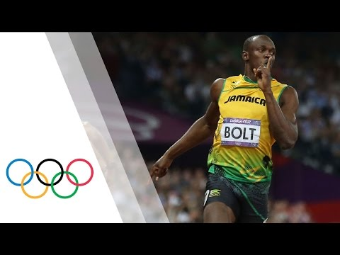 olympics - Usain Bolt wins the final of the men's 200m at the London 2012 Olympic Games. Yohan Blake and Warren Weir finished second and third respectively as Jamaica w...