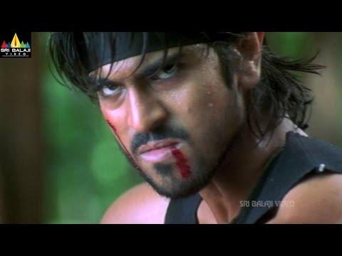 Chirutha Movie Action Scenes Back to Back   Ram Charan, Prakash Raj, Ashish Vidyarthi