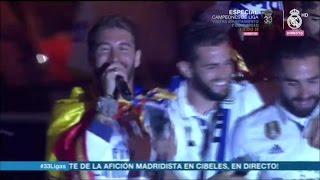 """Video """"¡Piqué, Cabrón, Saluda al Campeón!"""" Cibeles Liga 2017 Real Madrid MP3, 3GP, MP4, WEBM, AVI, FLV Mei 2017"""